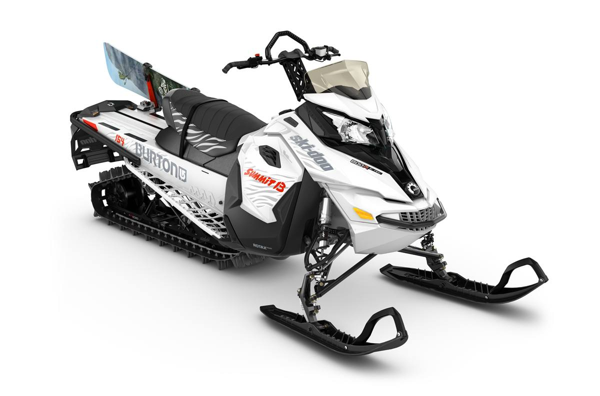 2016 Ski Doo Summit Burton Rotax 800r E Tec