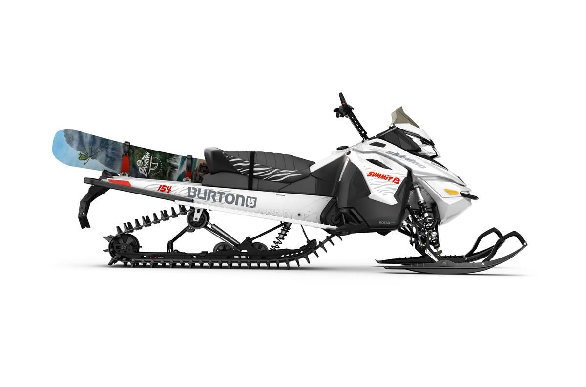 Item 2016 Ski Doo Summit Burton Rotax 800r E Tec Locationid 22042
