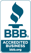 We are accredited by the BBB.