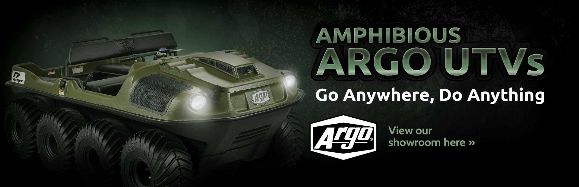 Click here to view Argo UTVs.