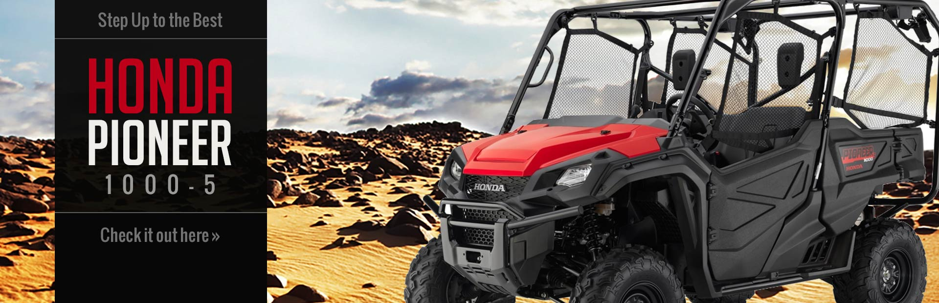 Honda Pioneer 1000-5: Click here to view the model.
