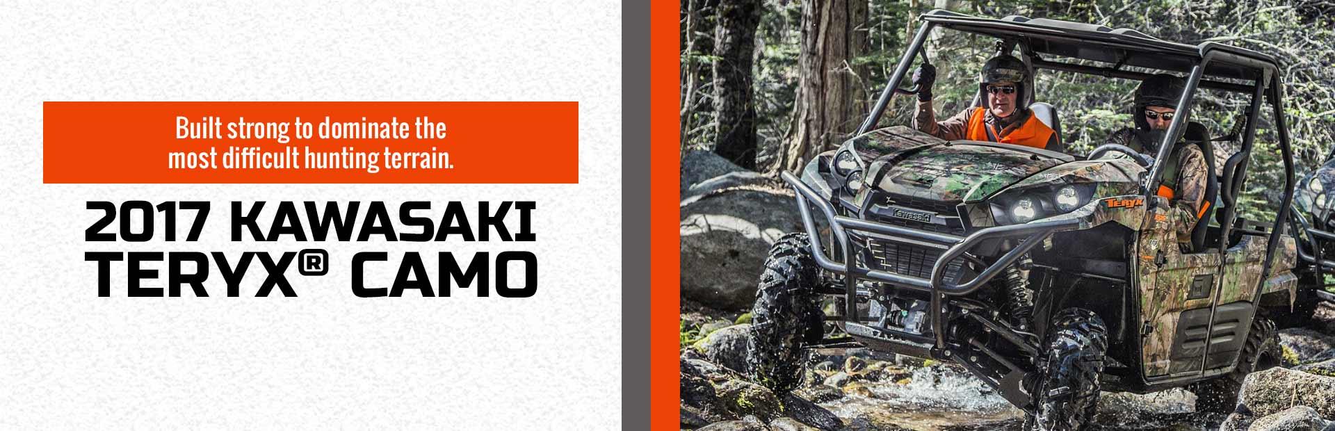 2017 Kawasaki Teryx® Camo: Click for details.