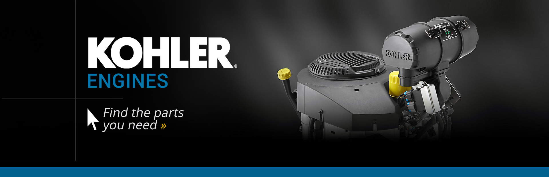 Kohler Engines: Click here to find the parts you need.