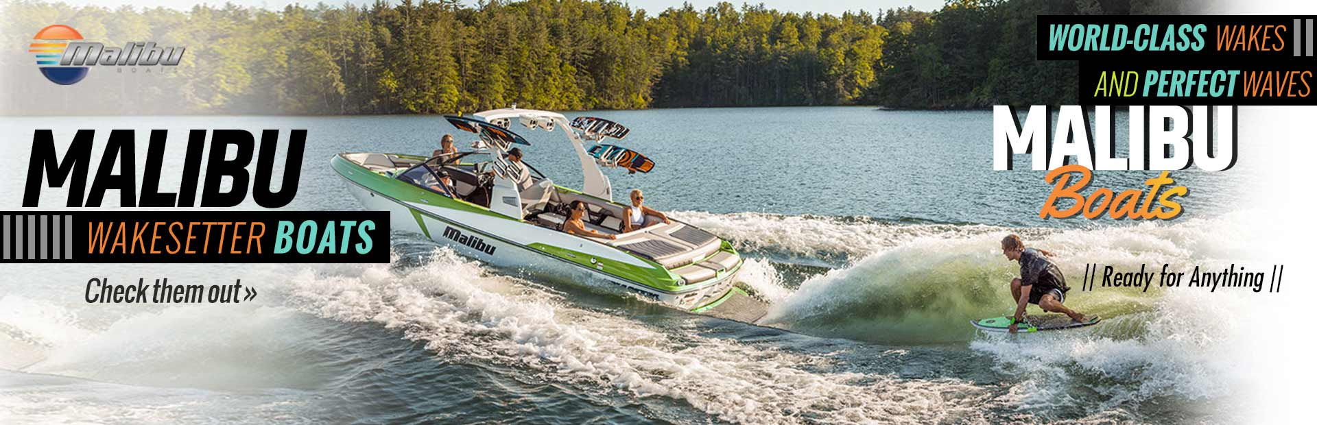 Click here to check out our selection of Malibu Wakesetter boats!