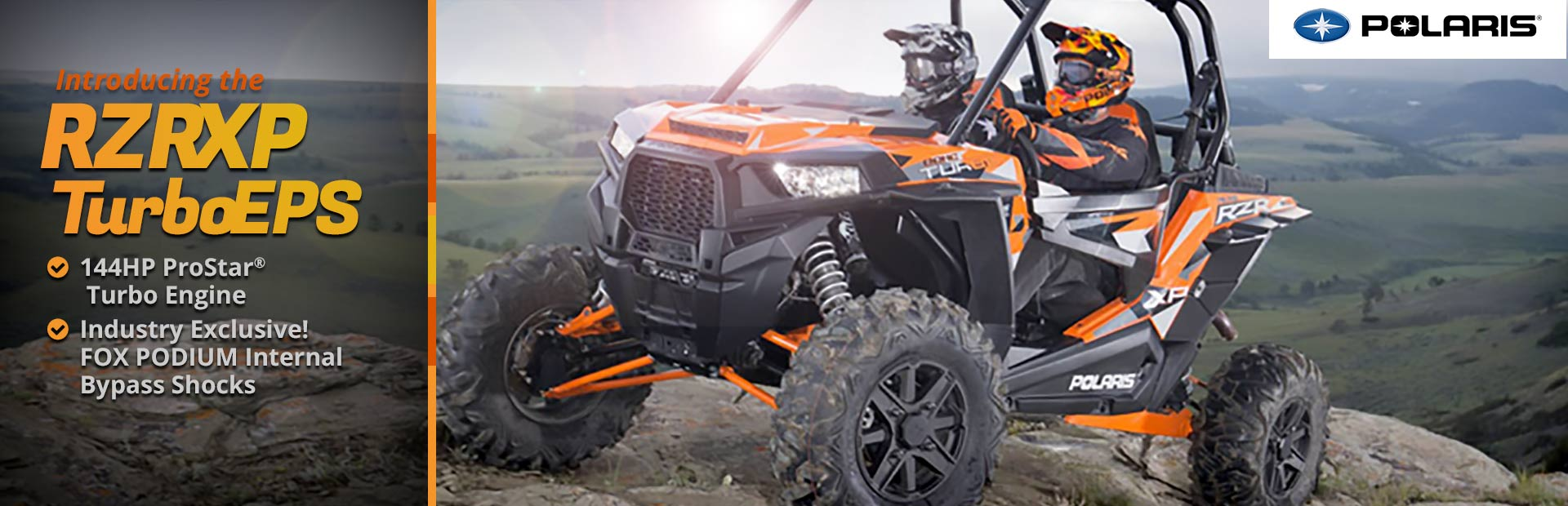 Polaris RZR XP Turbo EPS: Click here to view the models.