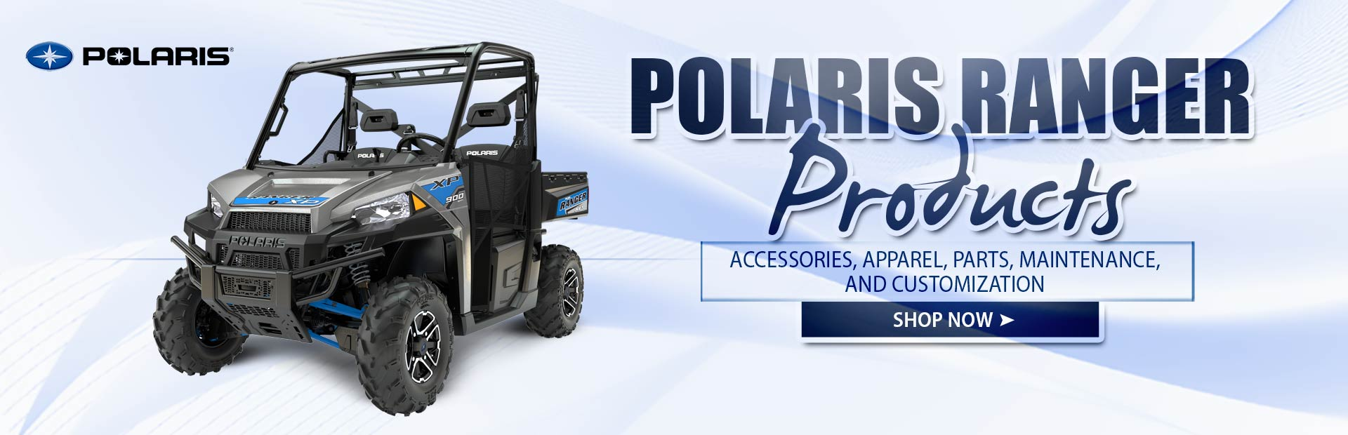Click here to shop for Polaris Ranger products.