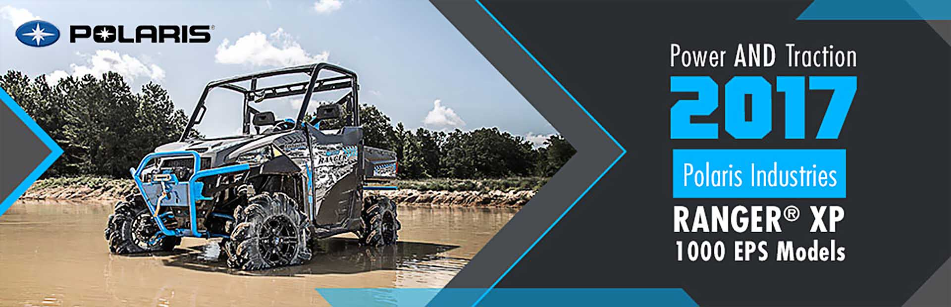 2017 Polaris Industries RANGER® XP 1000 EPS Models: Click here to view our selection.