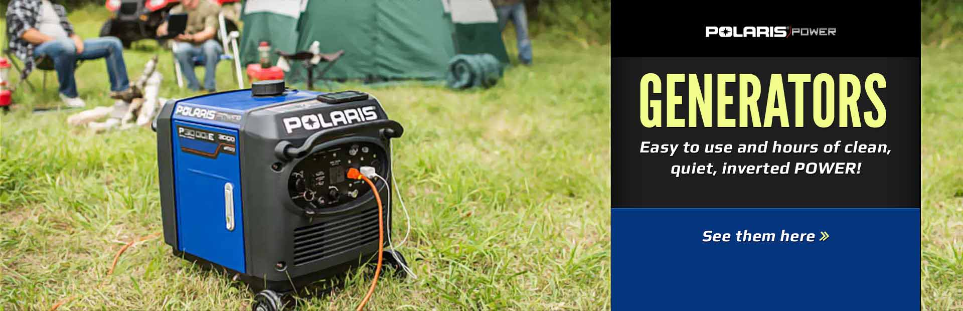 Polaris Generators: Click here to view the models.