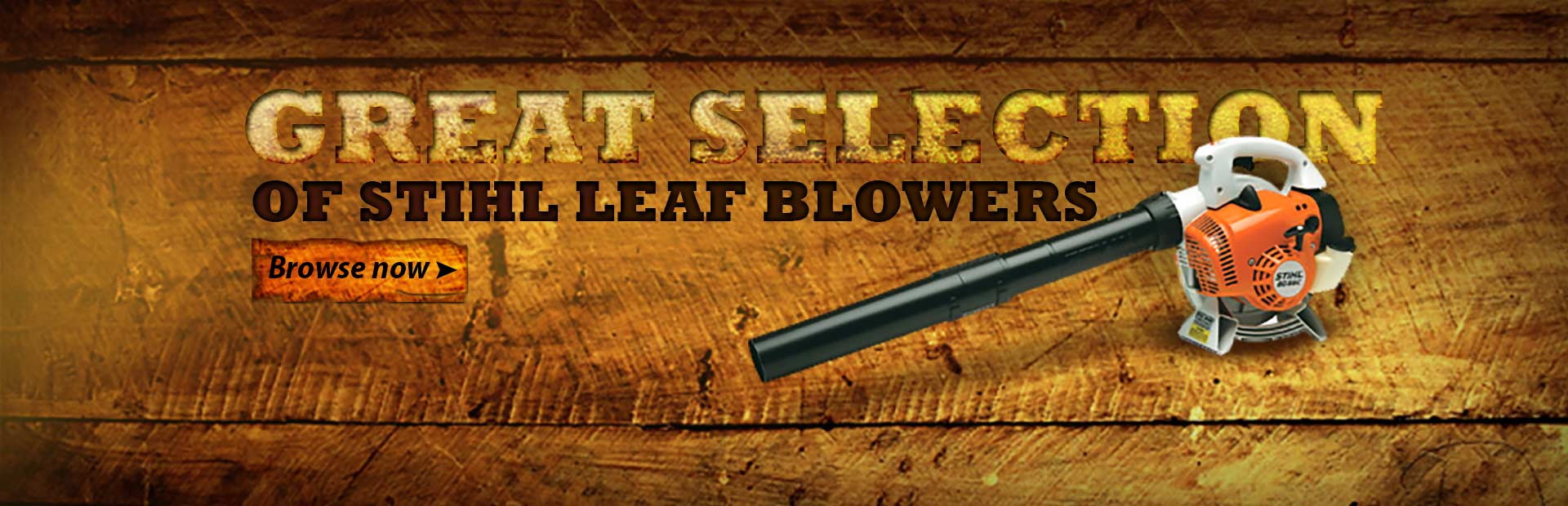 Click here to browse our great selection of STIHL leaf blowers.