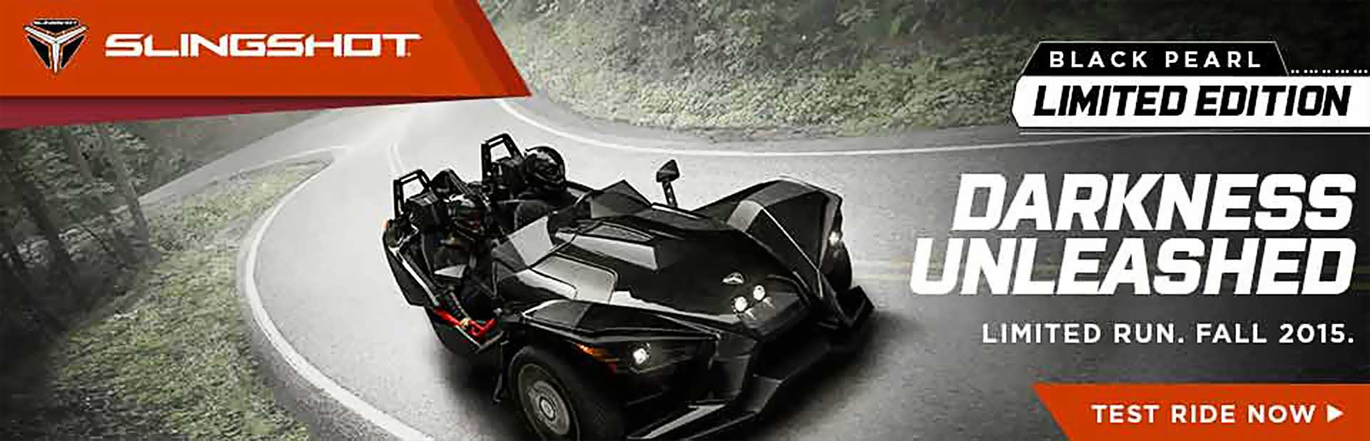 2016 Polaris Slingshot - Black Pearl Limited Edition