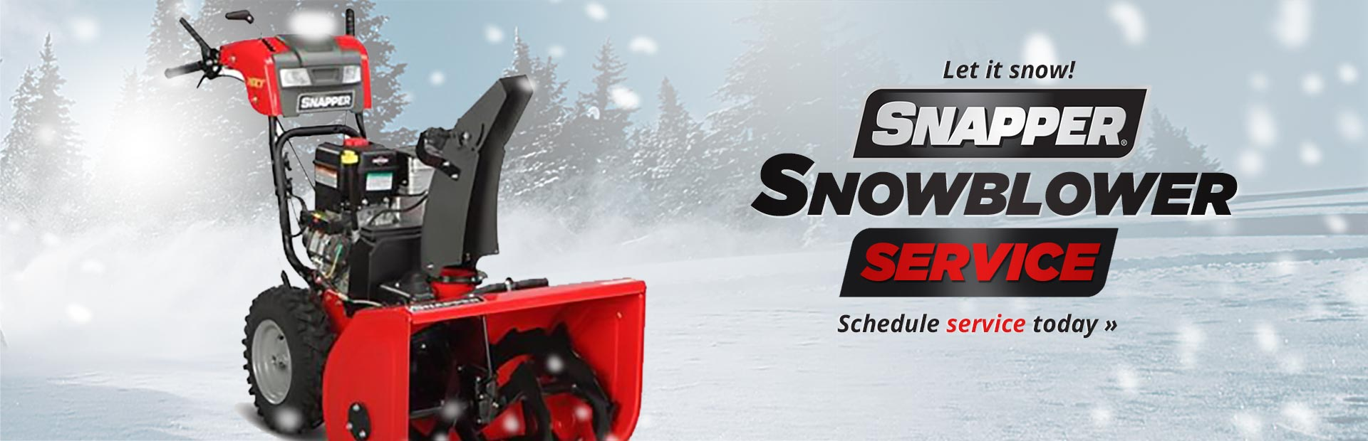 Snapper Snowmobile Service: Click here to view our service list!
