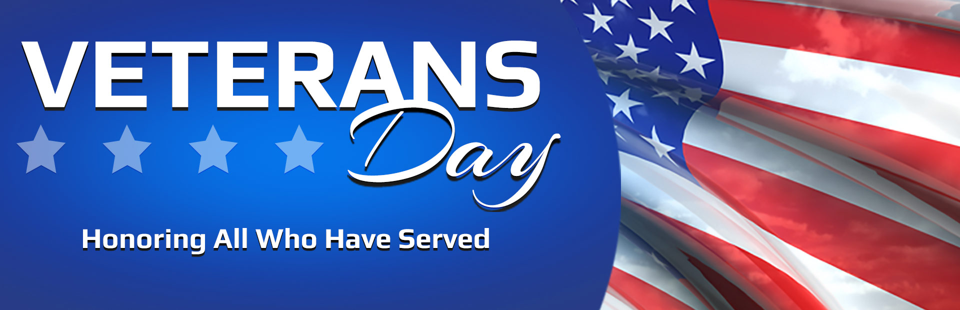 Veterans Day: Honoring all who have served.