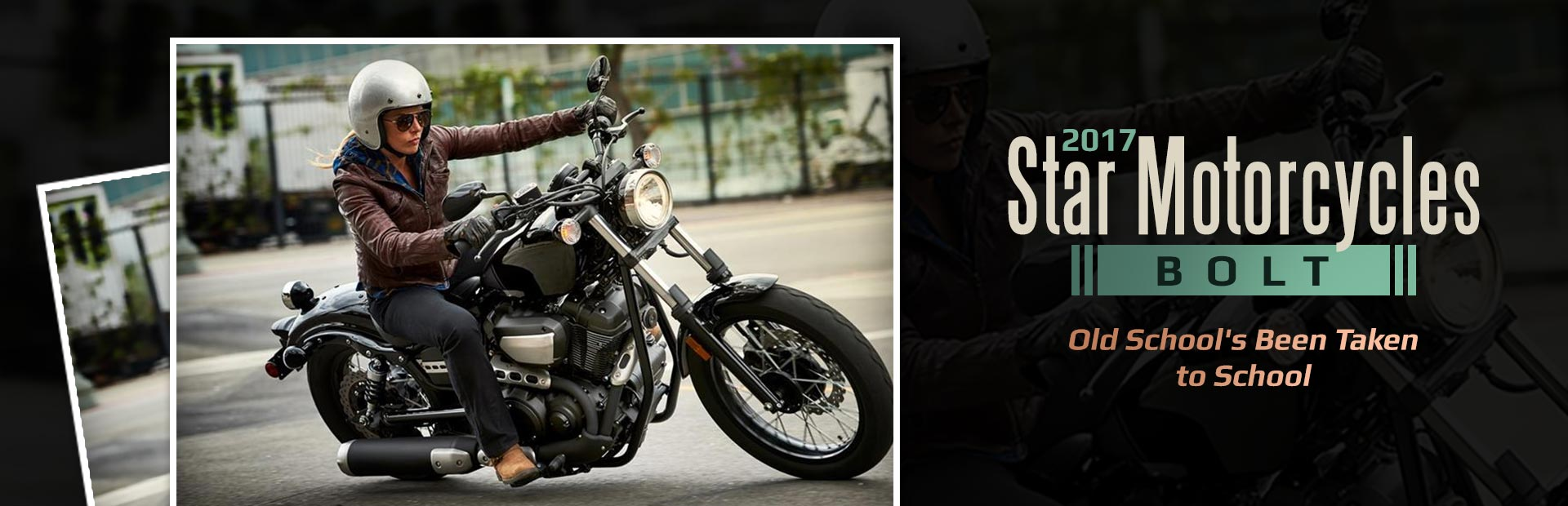 2017 Star Motorcycles Bolt: Click here to view the model.