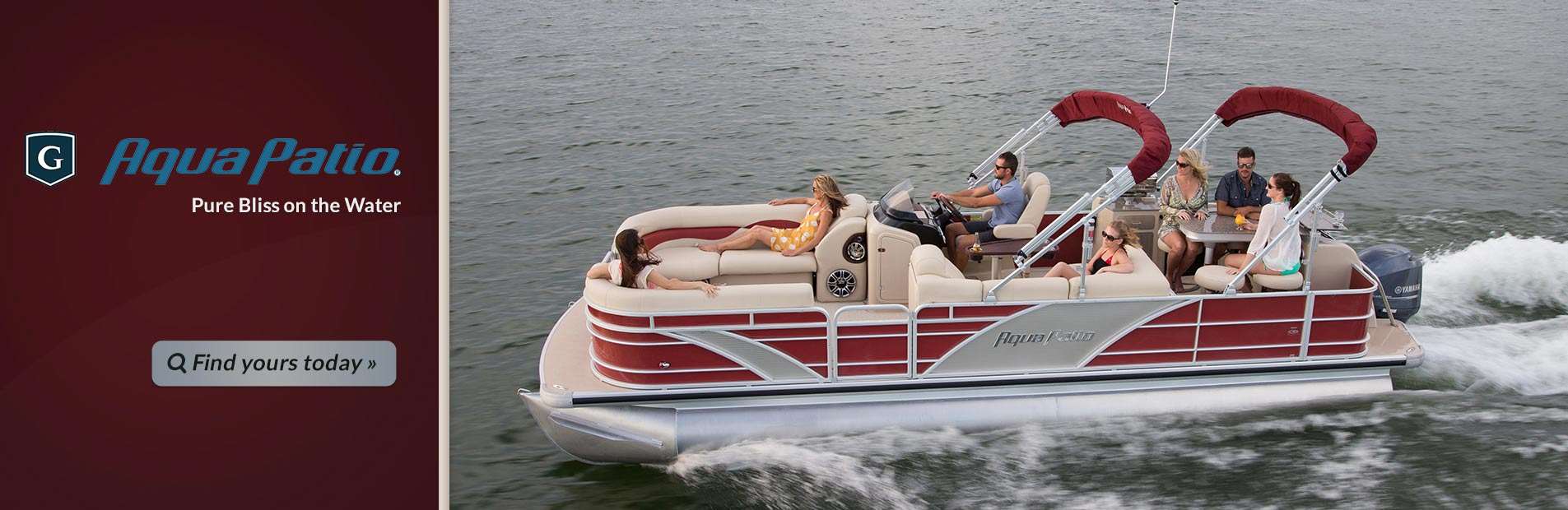 Aqua Patio Pontoons: Click here to view the models.