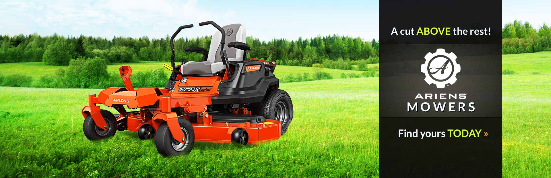 Ariens Mowers: Click here to view our selection.
