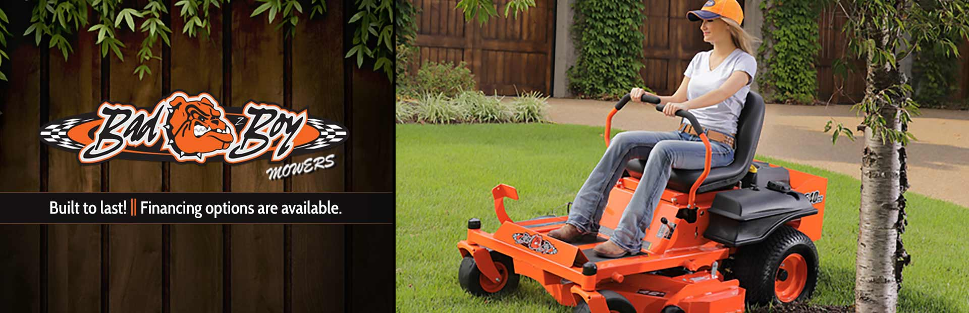 Bad Boy Mowers: Click here to view the models.