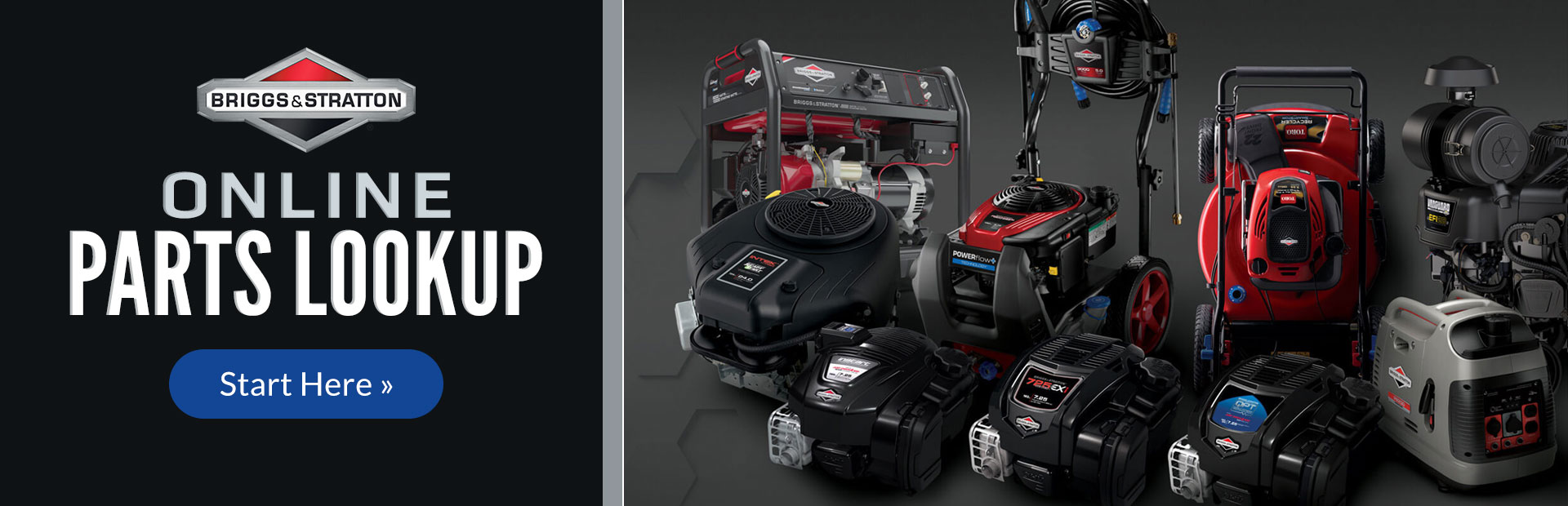 Briggs & Stratton Parts Lookup: Click here to begin your search.