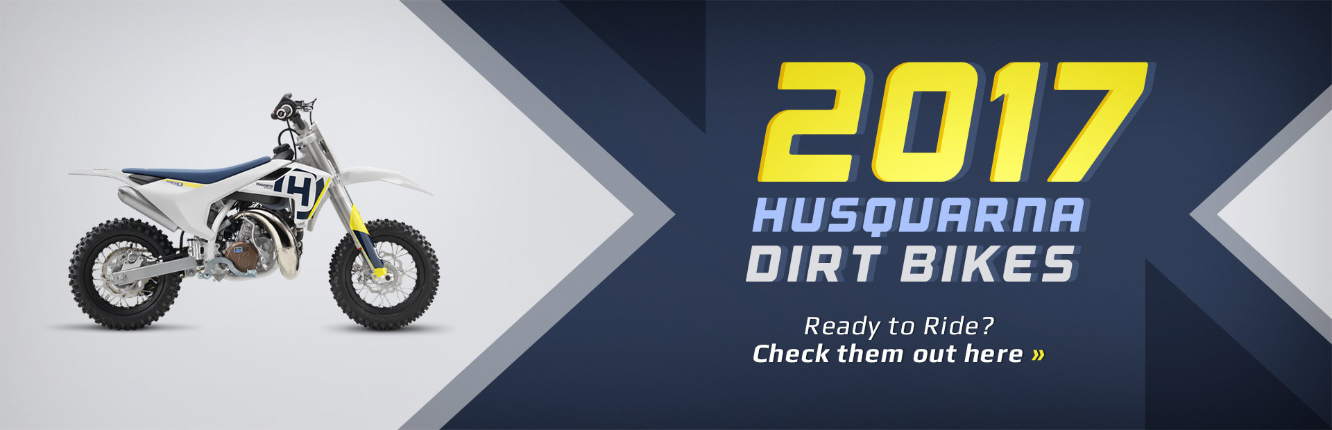 2017 Husqvarna Dirt Bikes: Click here to view the models.