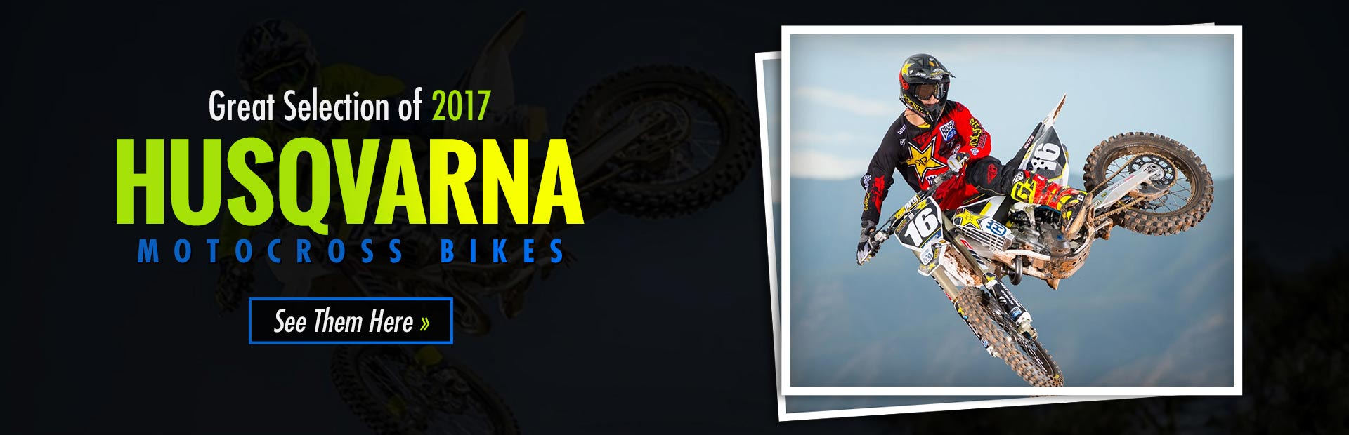 2017 Husqvarna Motocross Bikes: Click here to view the models.