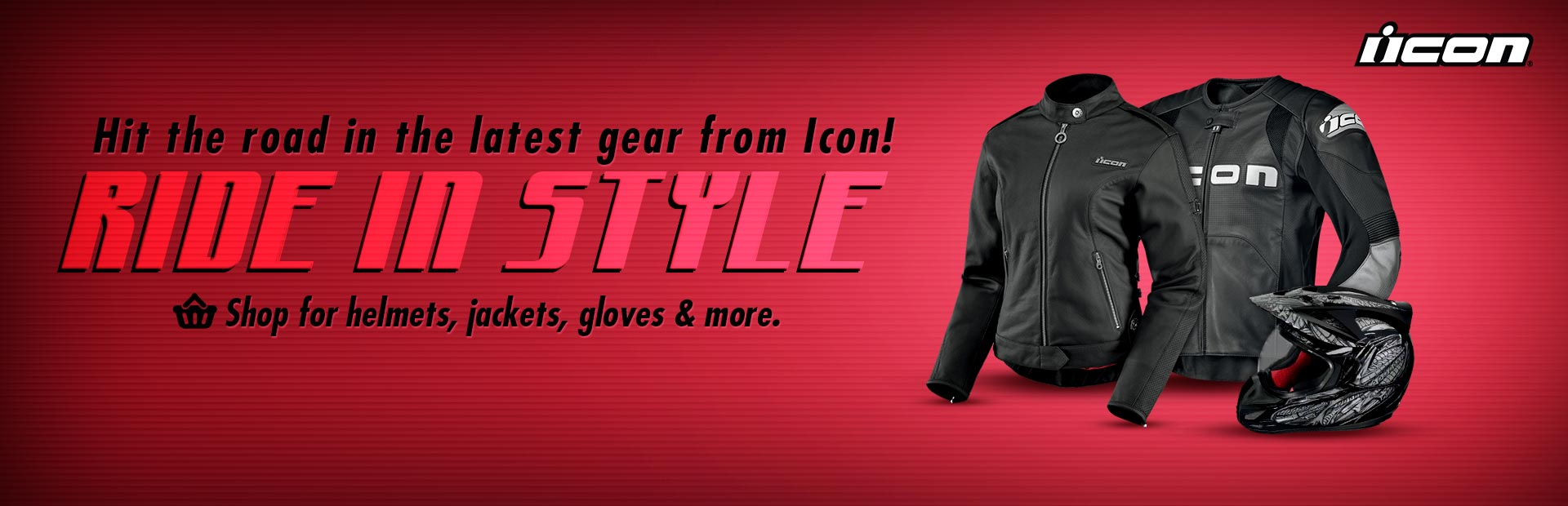 Click here to view the latest gear from Icon.