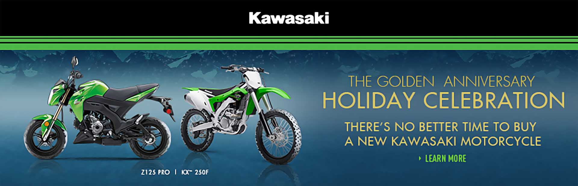 Kawasaki Golden Anniversary Holiday Celebration - Two Wheel