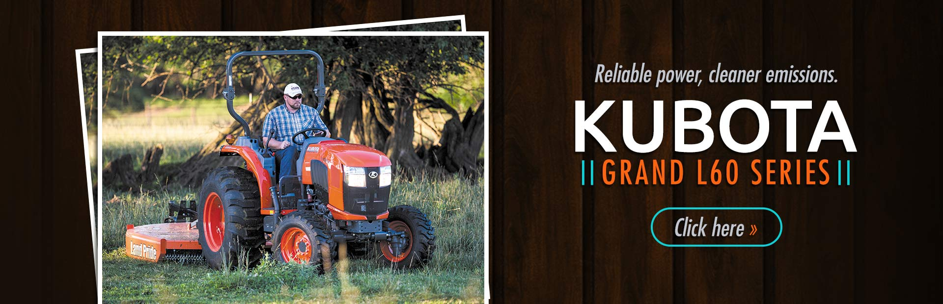 Click here to view our selection of Kubota Grand L60 series tractors!