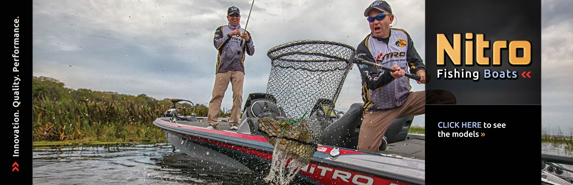 Nitro Fishing Boats: Click here to view the models.