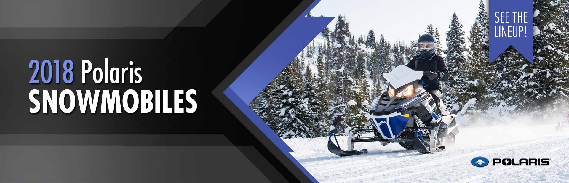 2018 Polaris Snowmobiles: Click here to view the models.