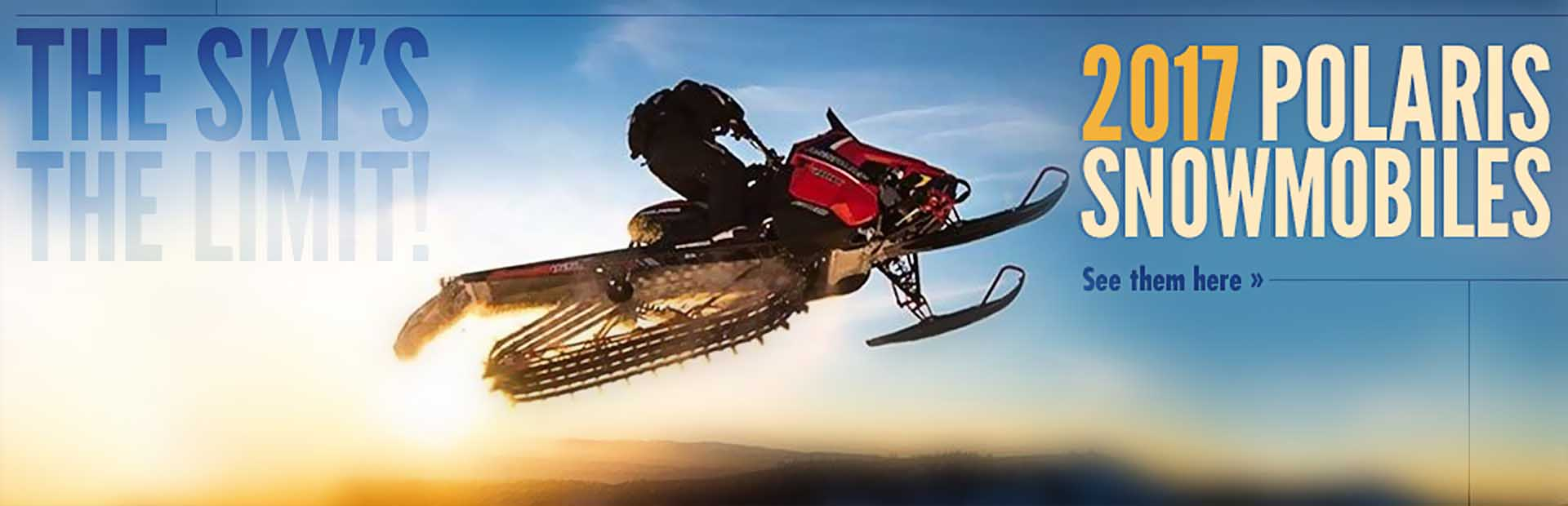 2017 Polaris Snowmobiles: Click here to view our showcase!
