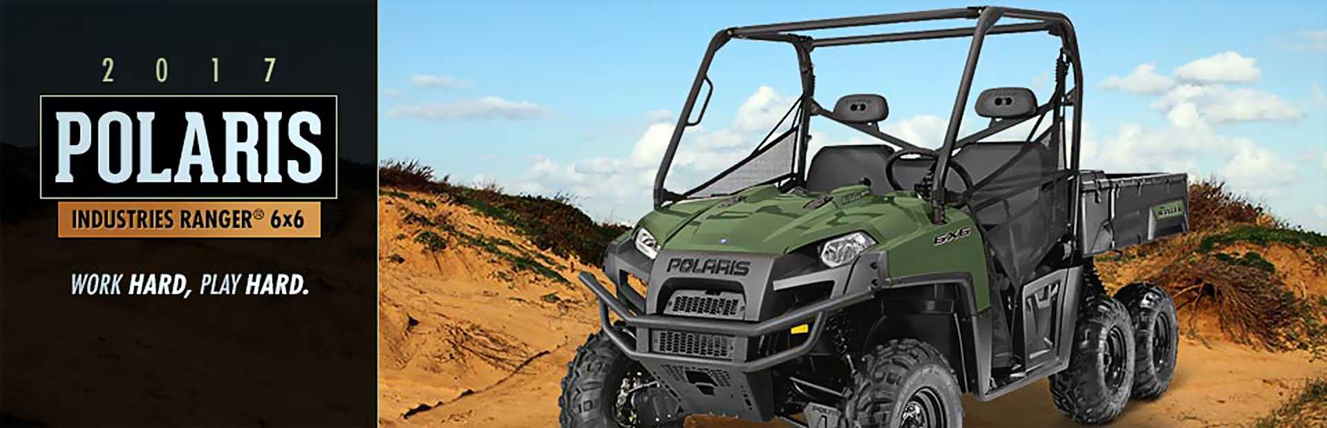 2017 Polaris Industries RANGER® 6x6: Click here for details.