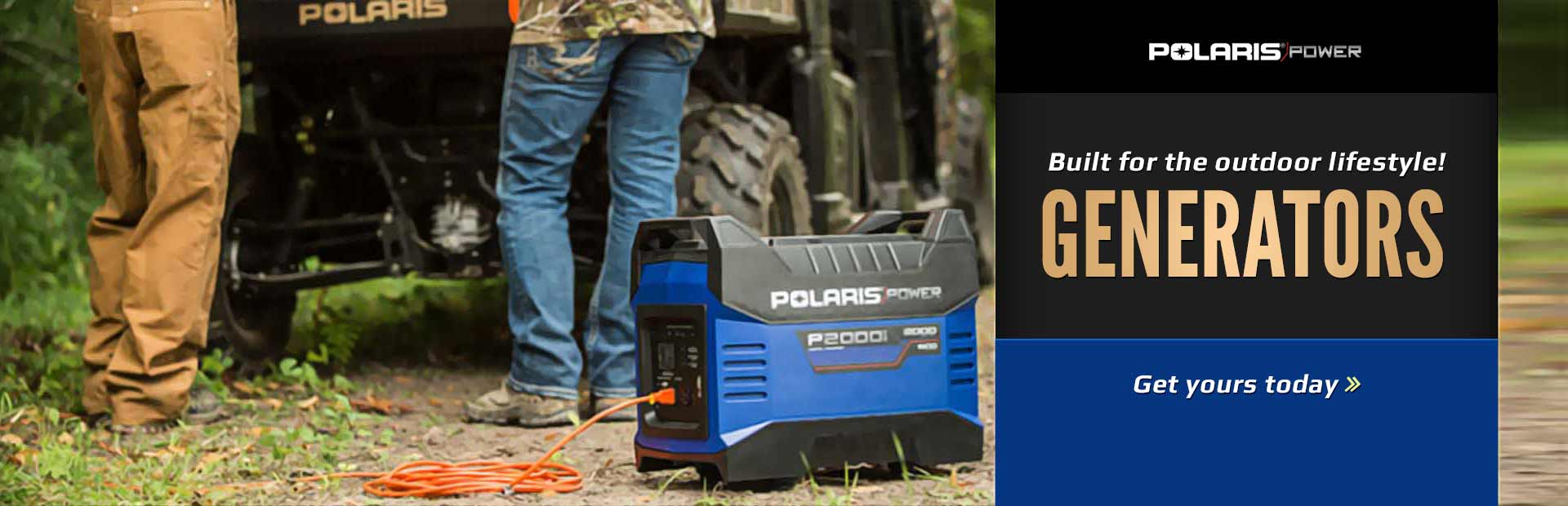 Polaris Generators: Click here to view the models.