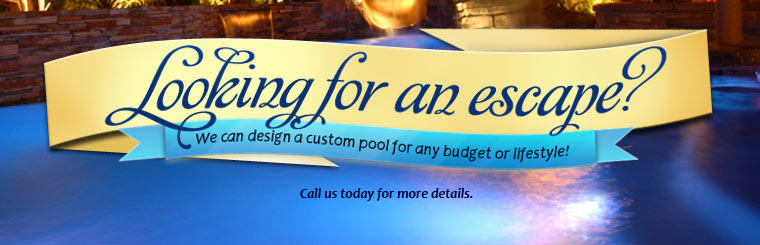 We can design a custom pool for any budget or lifestyle! Click here to contact us.