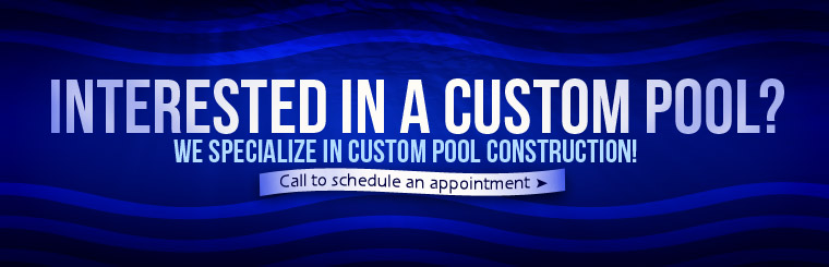 We specialize in custom pool construction. Click here to contact us.