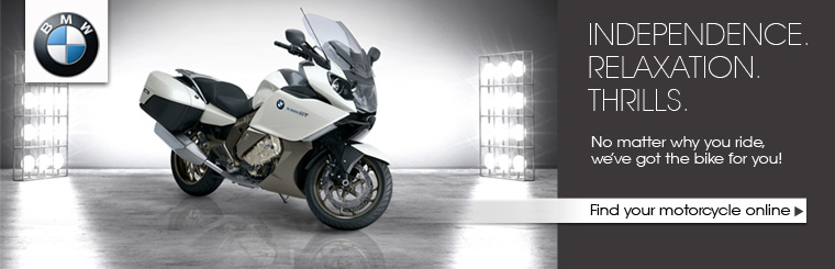 No matter why you ride, we've got the BMW for you! Click here to find your motorcycle online.