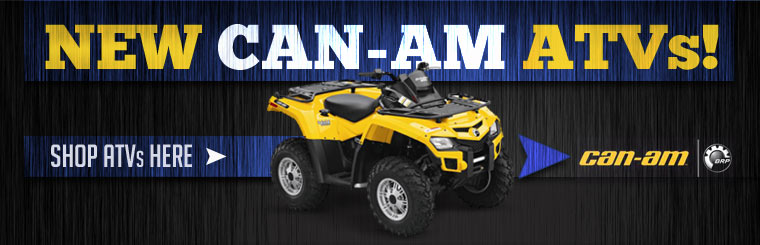 We have the new Can-Am ATVs! Click here to shop now.