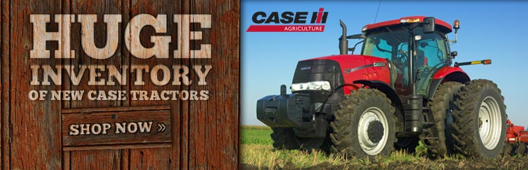 We have a huge inventory of new Case tractors. Click here to shop now.