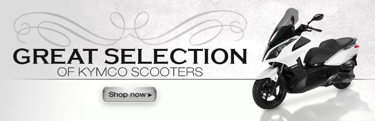 Click here to view our great selection of KYMCO scooters.