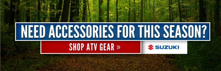 Need accessories for this season? Click here to shop ATV gear!