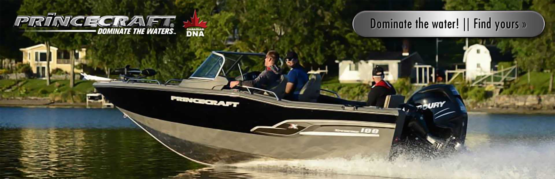 Princecraft Boats: Click here to view the models.