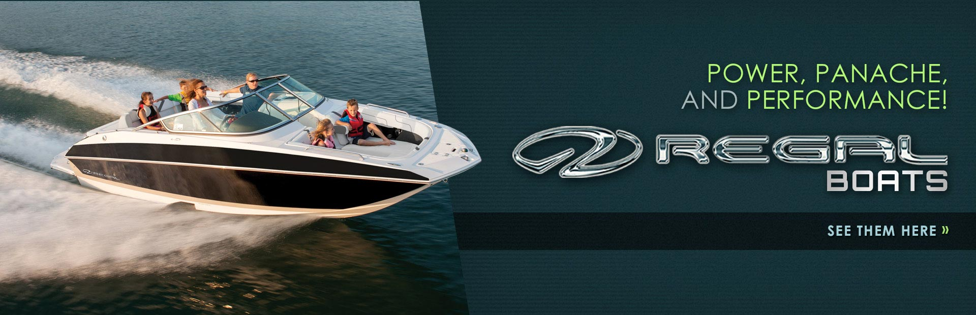 Regal Boats: Click here to view our selection!
