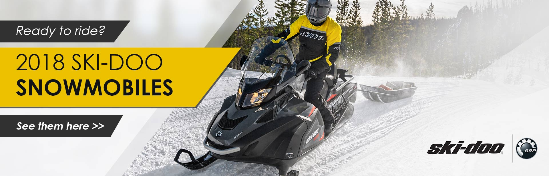 2018 Ski-Doo Snowmobiles: Click here to view the models.