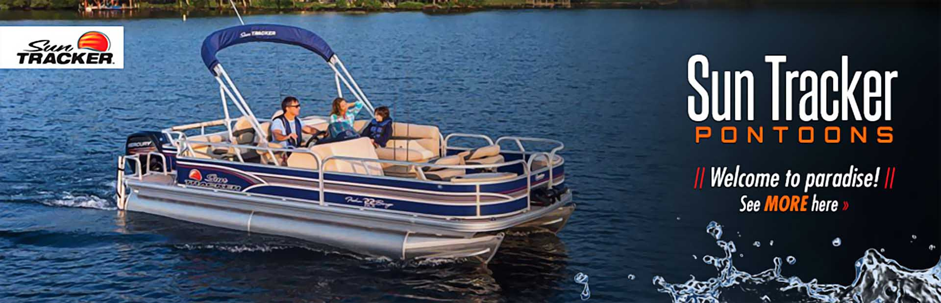Sun Tracker Pontoons: Click here to see the lineup.