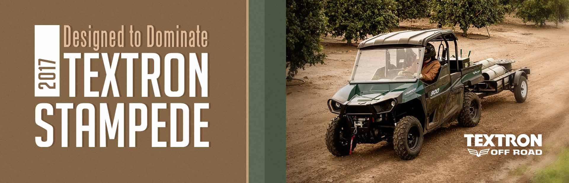 2017 Textron Off Road Stampede: Click here to view the model.
