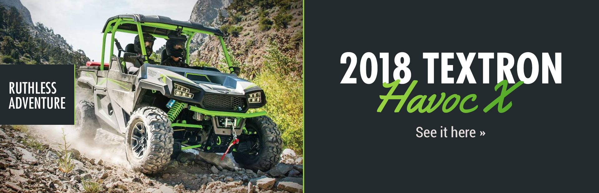 2018 Textron Havoc X: Click here to view the model.