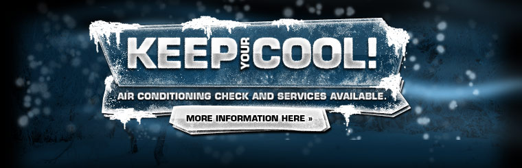 We provide air conditioning checks and service! Click here for more information.