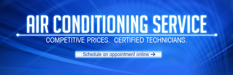 Air Conditioning Service: We have competitive prices and our technicians are certified. Click here to schedule an appointment online.