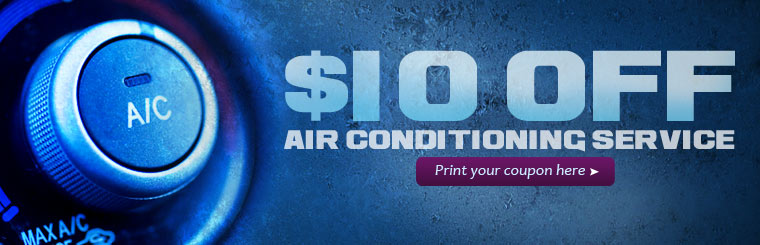 Get ten dollars off air conditioning service! Click here to print your coupon.