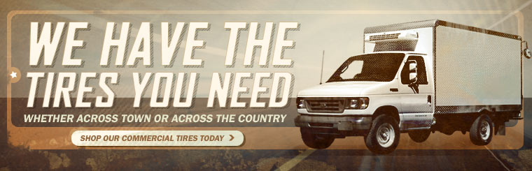 Whether it's across town or across the country, we have the tires you need. Shop our commercial tires today.