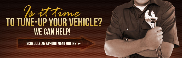 Is it time to tune-up your vehicle? We can help! Click here to schedule an appointment online.