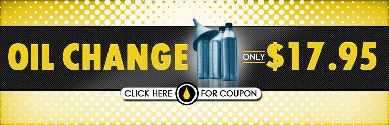Get an oil change for only $17.95! Click here for the coupon.